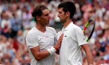 Nadal Djokovic tennis